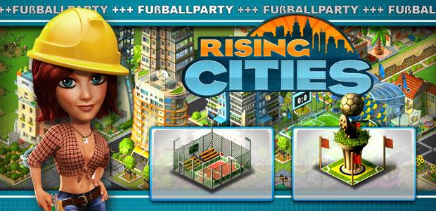 WM Special TNT Spiele für Rising Cities...