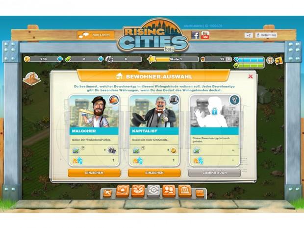 rising city online spielen