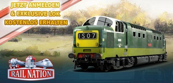 Rail Nation mit neuen Loks