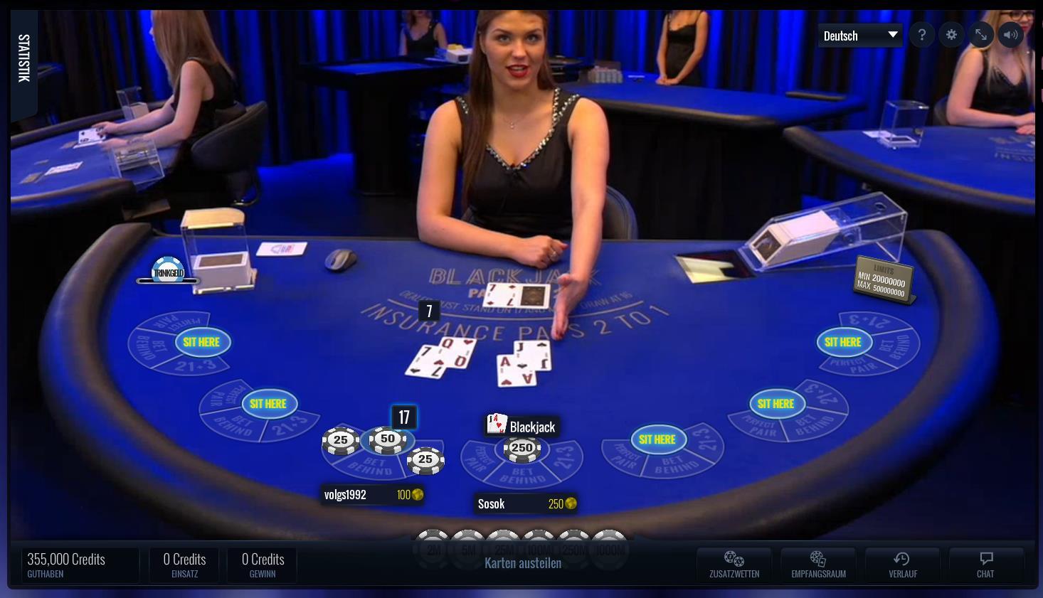 Jackpot Live Casino