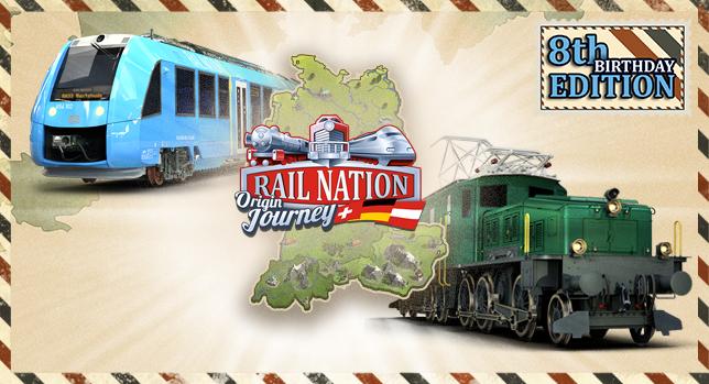 Rail Nation Geburtstag