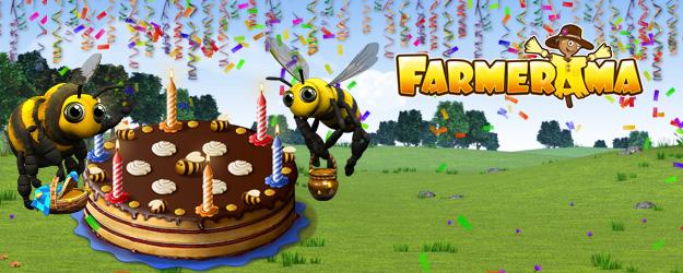 Farmerama feiert Geburtstag